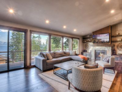Photo for Large, Stylish Home with Lake Views