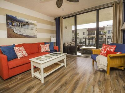 Photo for Nautical Vacation Nook  1 Bedroom/2 Bath with Oversized Balcony and Ocean View