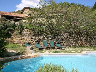 Photo for One bedroom Apartment, sleeps 2 in Gressa with Pool and WiFi