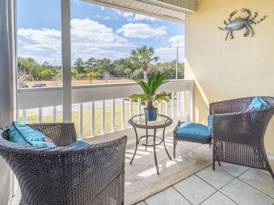 Photo for LAKE + 3 Pools! Tennis! ☀️Inspected & Disinfected☀️ Gulf Terrace 263