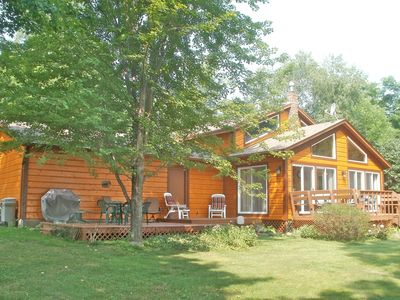 Photo for Spacious and Serene, Rustic Mille Lacs Cabin