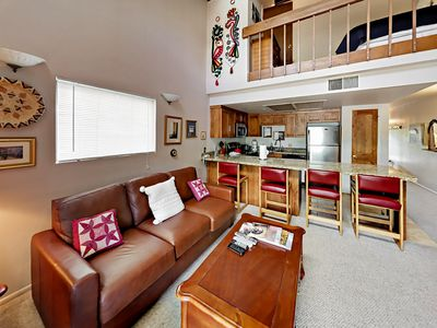 Photo for 1BR and Spacious Loft - Walk to Ski Lifts & Restaurants
