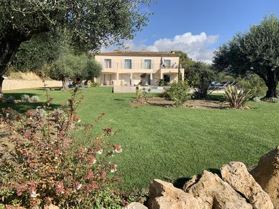 Photo for BASTIDE OF 400 M2 FOR 10 PEOPLE BETWEEN LAVENDERS AND OLIVE TREES
