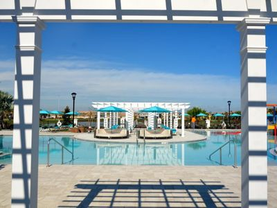 Photo for Beautiful 4 Bed Gated TownHm w/ Splash Pool At Windsor At Westside Resort