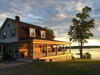 Photo for Lakefront home 60 miles from New York City