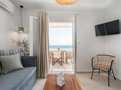 Photo for Ready for stress free vacation? A luxury apartment with a fantastic sea view!
