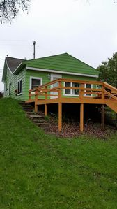 Photo for Lakefront Cottage, family friendly, close to everything but away from it all