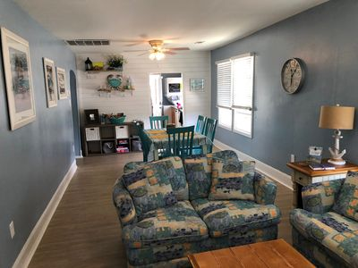Photo for Newly renovated! Great Northend location 1.5 blocks to beach w/ parking