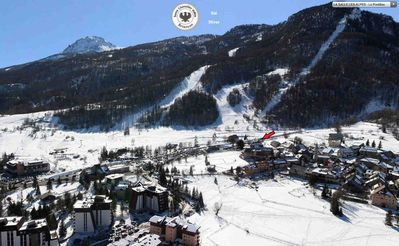 Photo for Serre Chevalier 1400 - Exceptional location, go on skis from the house!
