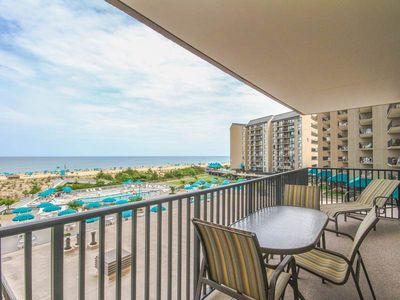Photo for 303N: 2BR Sea Colony Oceanfront Condo! Private beach, pools, tennis ...
