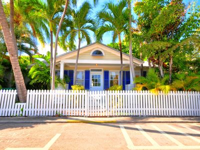 Photo for Elegant cottage on one of the nicest lanes in Old Town Key West. Private deck and patio
