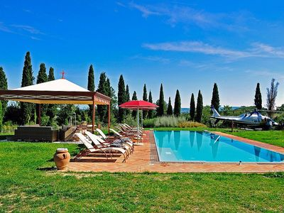 Photo for Villa Lirica: An elegant historical villa surrounded by the greenery, with Free WI-FI.