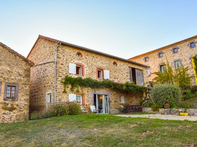 Photo for Holiday Home in Saint-Beauzire with Garden, Roofed Terrace