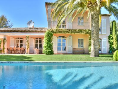 Photo for Luxury villa in the Bay of Saint Tropez on the edge of the Beauvallon golf course