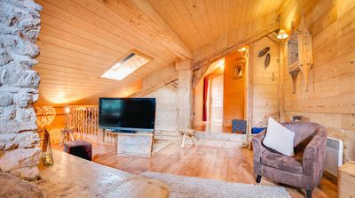 Photo for Apartment in a renovated farmhouse combining authenticity and modernity, near the center and the slopes