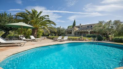 Photo for Rosmarina - Very comfortable Mallorcan country house with pool
