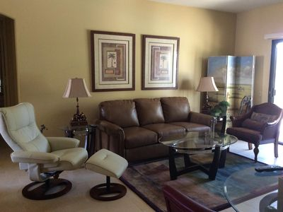 Photo for Two Master Suite Condo at Desert Princess Resort