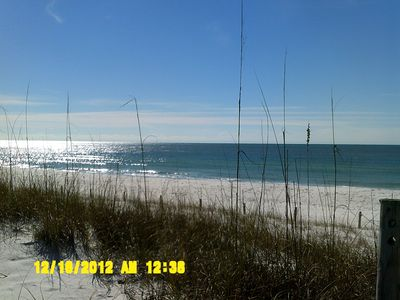 Photo for Ground Floor Condo in a Gulf-Front Complex!