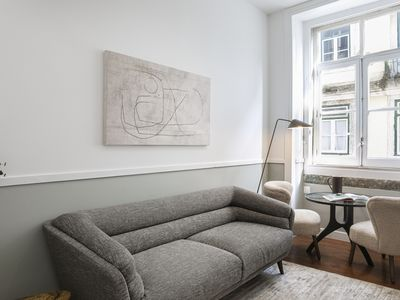 Photo for Urban retreat at downtown/Baixa:style, comfort, location, parking