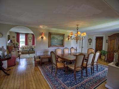 Photo for Spacious all-season French Country Farmhouse-the ultimate in relaxed elegance!