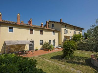 Photo for 3 bedroom Apartment, sleeps 8 in La Vergine with Pool and WiFi