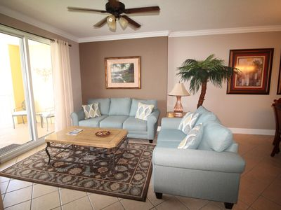 Photo for Amazing beachfront condo! Beach chairs included! Assigned parking!