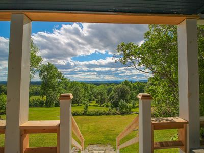 Photo for Historic home with porch & mountain/valley views, dogs OK, great for weddings!