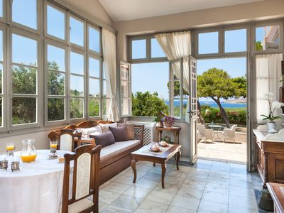 Photo for DellaGracia Mansion in Syros Cyclades -  Up to 12 Persons.