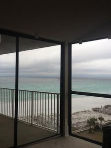 View from our condo.  The water is always so turquoise.  Beautiful!