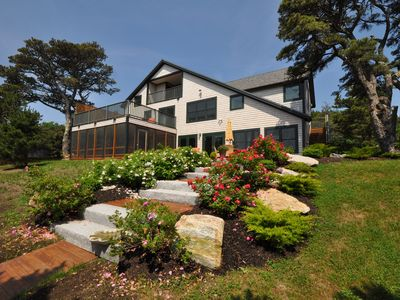 Photo for Sunny Popham Beachfront House located on the best beach in Maine