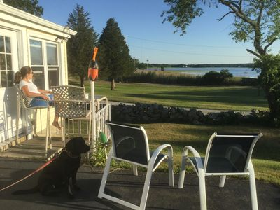 Photo for Ocean view,  private assoc. beach,  kayak, paddle board and beach chairs  incl!