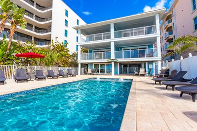 Condo #2 is located on the middle floor, right hand side the building!