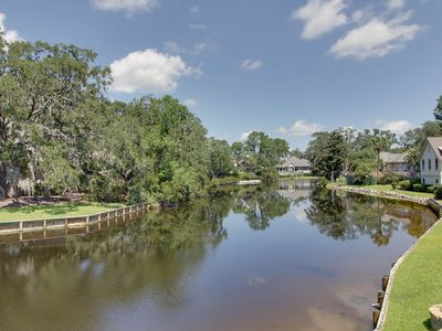 Beautiful Water View! Great for Families & Golfers! 4 Bikes! Community Pool!