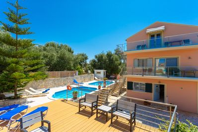 Beautiful villa with private pools and terrace with sea views