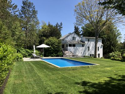 Photo for Tranquil Southampton Oasis in Secluded Cul-de-Sac Beach Community