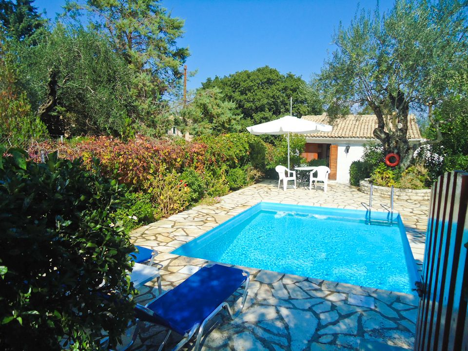 Fishermans Cottage Villa With Private Pool Close To Beach Kassiopi Corfu Ionian Islands