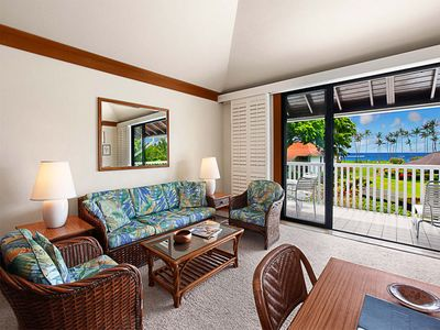 Photo for Poipu Perfection w/WiFi, Kitchen, Lanai, Ceiling Fans, Flat Screen+DVD–Kiahuna 2073