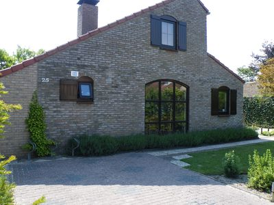 Photo for Quiet location, close to the beach and forest, large garden to play for children
