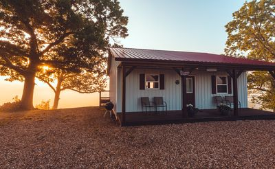 Photo for Sunrise Cabin has breath taking sunrises and relaxing sunsets.
