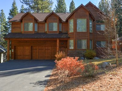 Photo for Spectacular Tahoe Home W/ Movie Theater, Hot Tub, Outdoor Fireplace & More!
