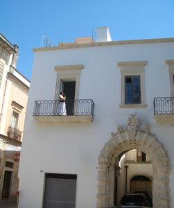 Palazzo Luceri, Galatina (entrance to #30 is at the side of the building)