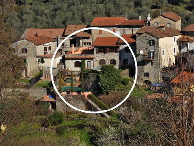Photo for Casa Panigal 12P with private Pool free WiFi BBQ, near to Cinque Terre
