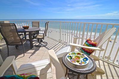Enjoy The Beach View From Your Balcony