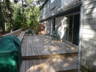 View of Deck from Garage