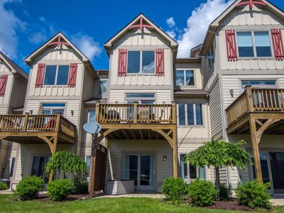 Photo for Lake Area Townhome with Ski Slope Views!