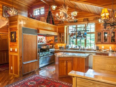 Photo for Adirondack Great Camp style home on beautiful Blue Mountain Lake
