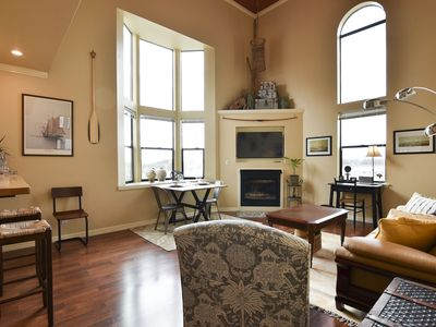 Photo for Boardwalk Loft – on the Bay in Old Town Eureka!