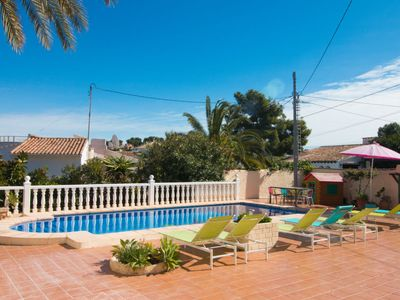 Photo for Vacation home Julia in Moraira - 10 persons, 5 bedrooms