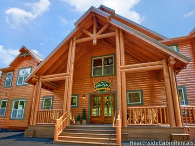 Photo for HUGE LUXURY CABIN!!! BIG ELK LODGE - SLEEP 81 GUESTS!