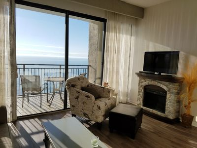 Ocean Front. One Bedroom Unit.  Immaculate Condition.  Full Size Appliances.